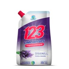 Limpia pisos 123 Lavanda 200 ML