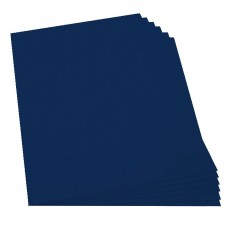 Cartulina plana azul oscuro Primavera