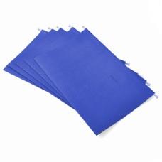 Folder Oficio Colgante  POLI Plástico Azul  V-META