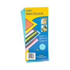 Guía Clasificadora Celuguía Azul  NORMAFOLD (X100)