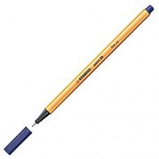 Micropunta Stabilo azul oscuro 0.4 MM