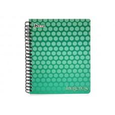 Cuaderno Argollado  85 Con Cuadros  100 Hojas IMAGENES UND (X100)
