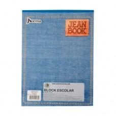 Block oficio sin rayas 80 Hojas Jean Book