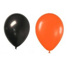 Bombas R12 X 12 naranja y negras Halloween Rumatex