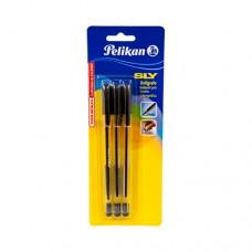 Bolígrafo Pelikan Sly Negro