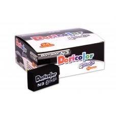 Borrador Doricolor N3 Negro