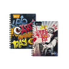 Cuaderno Argollado  105 Con Cuadros 80 Hojas  Durabook  X-PRESARTE Masculino