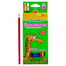 Colores PARCHESITOS   X12 Largo 5MM