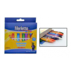 Crayones MERLETTO X12 Delgado