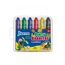 Crayones NORMA X6 Pintubarritas  (X12)