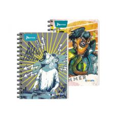 Cuaderno Argollado  95 5Materias  160 Hojas  Con Cuadros X-PRESARTE Masculino