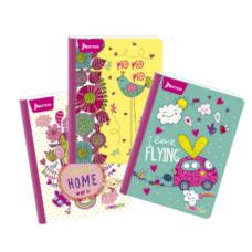 Cuaderno Cosido 95 Con Cuadros 100 Hojas  X-PRES Femenino UND (X50)