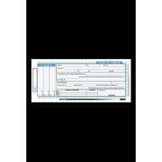Talonario de letra de cambio 50 Hojas