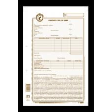 Contrato civil de obra labor terminada Minerva X12