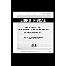 Libro fiscal reglamentario operaciones diarias Minerva