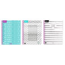 Cuaderno Argollado 105 Con Cuadros  80 Hojas  KIUT Femenino