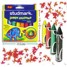Crayones  STUDMARK MK X8 Jumbo