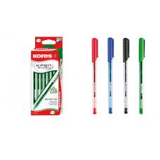Estuche de bolígrafos Kores K1 surtido X10