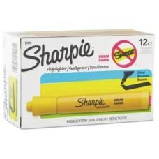 Resaltadador Sharpie amarillo (x12)