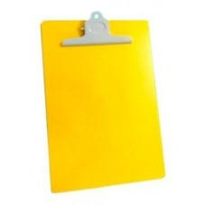 Tabla  apoyo plástica amarilla Fabrifolder