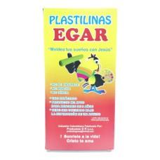 Plastilina EGAR larga x9 colores