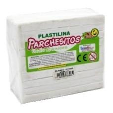 Plastilina kilo blanca Parchesitos