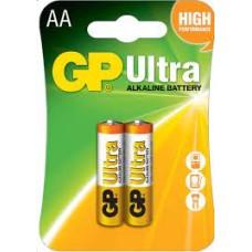 Baterías Pilas Aa Ultra Alcalina Gp 1.5v Cartón X2