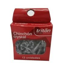 Chinchón Triton x 12 cristal transparente