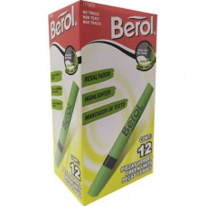 Resaltad Berol verde (x12)