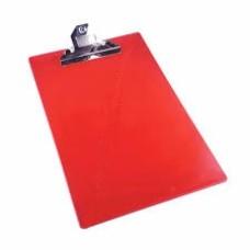 Tabla apoyo plástica roja (x50) fabrifolder