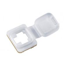 Tapa ciega antifluidos blanco R&M