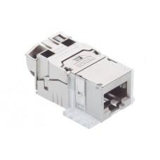 Modulo de conexión CAT 6A RJ45 gris R&M