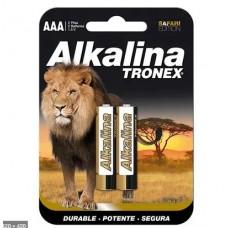 Pila AAA Alkalina Tronex
