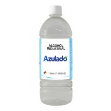 Alcohol 1000ml industrial 70% Azulado 1 Lt.