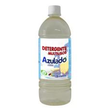 Detergente liquido 1000 ml multiusos neutro Azulado 1lt.