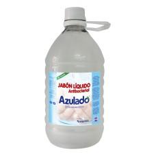 Jabón liquido antibacterial 2.000 ml neutro taparrosca Azulado.
