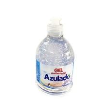 Gel antibacterial 500 ml pull push Azulado