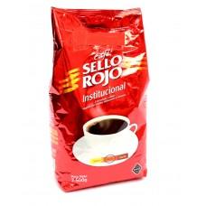 Café 5 LB Sello Rojo Medio  Institucional