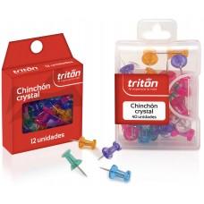Chinches Triton x 40 Cristal