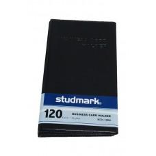 Tarjetero para 120 tarjetas negro Studmark